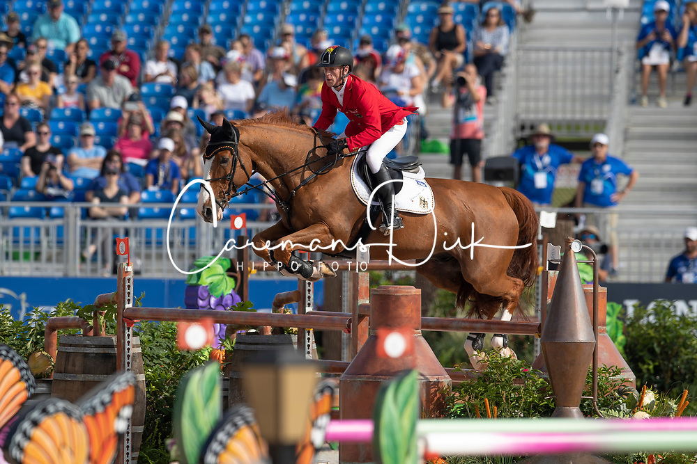 Ehning Marcus, GER, Pret A Tout<br /> World Equestrian Games - Tryon 2018<br /> © Hippo Foto - Dirk Caremans<br /> 23/09/2018