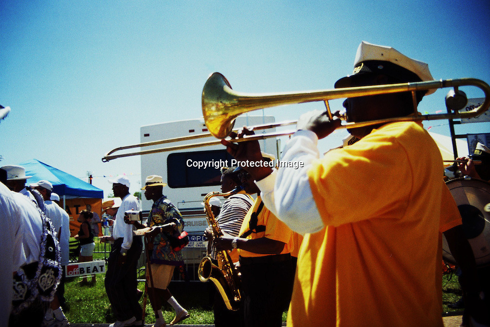 photos of jazz fest 2005 in New Orleans