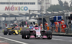 October 27, 2018 - Mexico-City, Mexico - Motorsports: FIA Formula One World Championship 2018, Grand Prix of Mexico, .#31 Esteban Ocon (FRA, Racing Point Force India F1 Team) (Credit Image: © Hoch Zwei via ZUMA Wire)