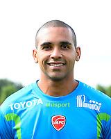Magno NOVAES - 18.09.2013 - Presentation Officielle des Equipes de Ligue 1<br /> Photo : Fred Porcu / Icon Sport