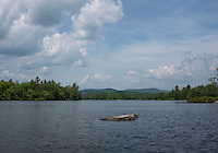 Lake Wickwas kayaking.  ©2016 Karen Bobotas Photographer
