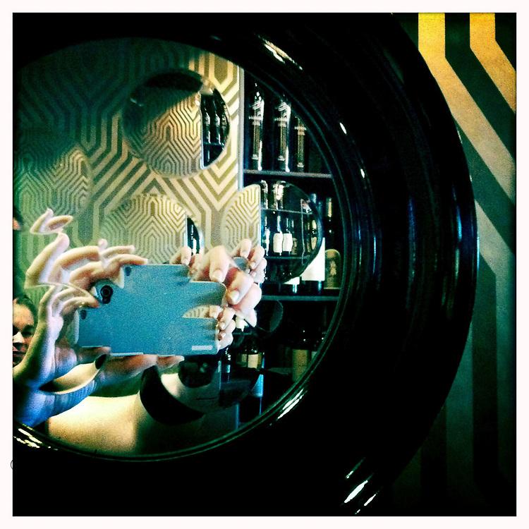 Me reflected - Houston, Texas