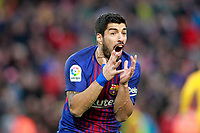 FC Barcelona's Luis Suarez during La Liga match. March 4,2018. (ALTERPHOTOS/Acero)