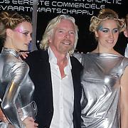 NLD/Den Haag/20111114 - Perslunch Virgin Galactic iav Sir Richard Branson, oa Ronald Heister