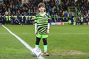 Mascot during the EFL Sky Bet League 2 match between Forest Green Rovers and Swindon Town at the New Lawn, Forest Green, United Kingdom on 21 December 2019.
