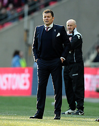 Bristol City manager, Steve Cotterill  - Photo mandatory by-line: Joe Meredith/JMP - Mobile: 07966 386802 - 22/03/2015 - SPORT - Football - London - Wembley Stadium - Bristol City v Walsall - Johnstone Paint Trophy Final