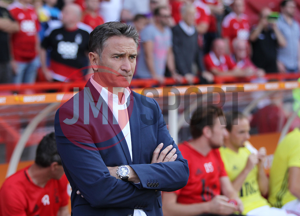 Philippe Montanier manager of Nottingham Forest - Mandatory by-line: Jack Phillips/JMP - 06/08/2016 - FOOTBALL - The City Ground - Nottingham, England - Nottingham Forest v Burton Albion - EFL Sky Bet Championship