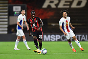 Jordan Zemura (33) of AFC Bournemouth on the attack during the EFL Cup match between Bournemouth and Crystal Palace at the Vitality Stadium, Bournemouth, England on 15 September 2020.