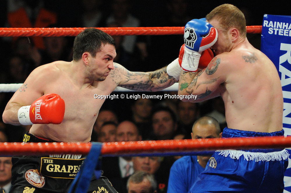 George Groves defeats Paul Smith at Wembley Arena on the 05.11.11. Promoter Frank Warren.Photo credit: © Leigh Dawney 2011.
