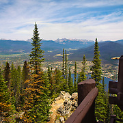 Shadow Mt. Fire Lookout view in Rocky Mountain National Park.