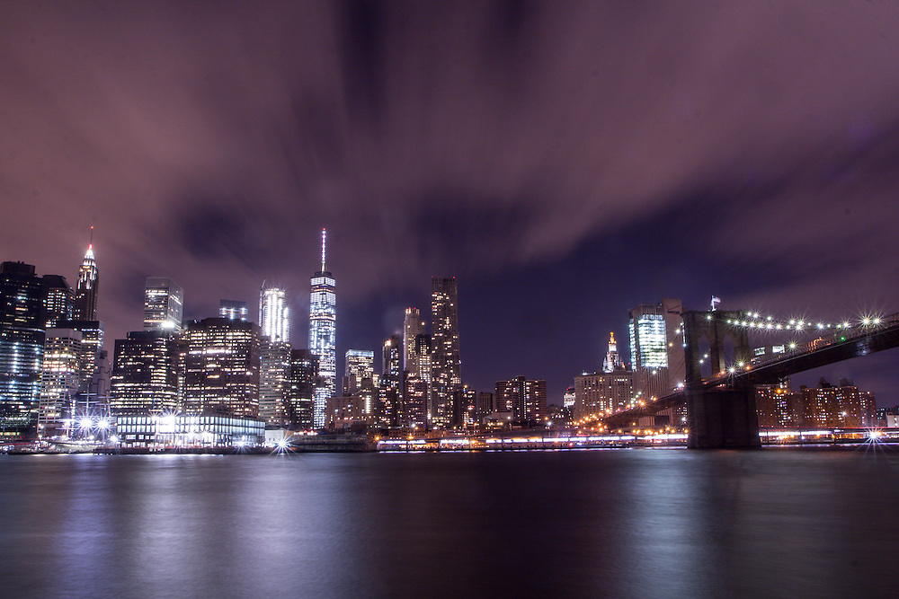 The Brooklyn Bridge and the Manhattan Skyline from Brooklyn                                      © Dan Butler Photography - All rights are reserved. My images may not be used or edited without my permission.