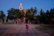Church at Dusk. Hacienda Trancas, Mexico.