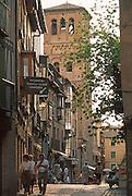 SPAIN, LA MANCHA, TOLEDO Santo Tome Church; 'Mudejar' style