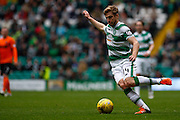 Celtic FC Midfielder Stuart Armstrong on the attack during the Ladbrokes Scottish Premiership match between Celtic and Dundee United at Celtic Park, Glasgow, Scotland on 25 October 2015. Photo by Craig McAllister.