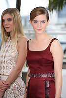 Claire Julien, Emma Watson, at the Bling Ring film photocall at the Cannes Film Festival 16th May 2013. The Bling Ring is directed by Sofia Coppola and in Un Certain Regard category of the festival.