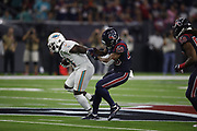 Miami Dolphins running back Frank Gore (21) in action during the NFL week 8 regular season football game against the Houston Texans on Thursday, Oct. 25, 2018 in Houston. The Texans won the game 42-23. (©Paul Anthony Spinelli)