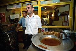 TURKEY ISTANBUL JUL02 - Street restaurant in Karaköy, Old Istanbul...jre/Photo by Jiri Rezac..© Jiri Rezac 2002..Contact: +44 (0) 7050 110 417.Mobile:   +44 (0) 7801 337 683.Office:    +44 (0) 20 8968 9635..Email:     jiri@jirirezac.com.Web:     www.jirirezac.com