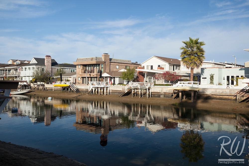 Balboa Island Homes, Newport Beach, California