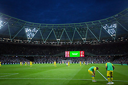 Stadium during 2nd Leg football match between West Ham United FC and NK Domzale in 3rd Qualifying Round of UEFA Europa league 2016/17 Qualifications, on August 4, 2016 in London, England.  Photo by Ziga Zupan / Sportida