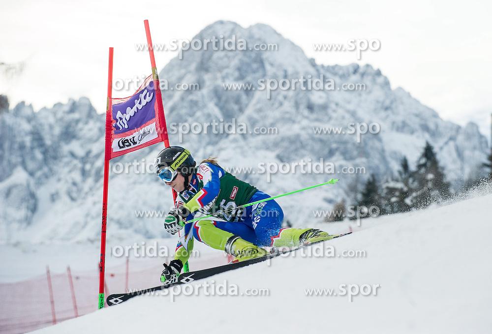 28.12.2013, Hochstein, Lienz, AUT, FIS Weltcup Ski Alpin, Lienz, Riesentorlauf, Damen, 1. Durchgang, im Bild Ana Drev (SLO) // during the 1st run of ladies giant slalom Lienz FIS Ski Alpine World Cup at Hochstein in Lienz, Austria on 2013-12-28, EXPA Pictures © 2013 PhotoCredit: EXPA/ Michael Gruber
