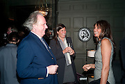 GRAYDON CARTER, ELIZABETH SALTZMAN;COUNTESS  DEBBIE VON BISMARCK, Graydon and Anna Carter host a lunch for Carolina Herrera to celebrate the ipening of her new shop on Mount St. .The Connaught. London. 20 January 2010