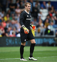 Queens Park Rangers' Alex Smithies during the pre-season friendly match at Loftus Road, London.