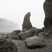 Rock formation at Ruby Beach - Olympic National Park, WA