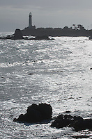 Pigeon Point Lighthouse on the San Mateo Coast of California