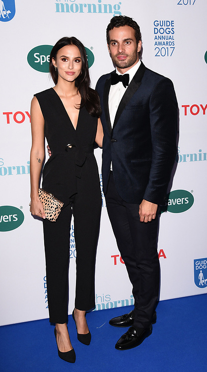 London, UK Lucy Watson and James Dunmore at The Guide Dog Of The Year Awards held at The Hurlingham Club, Ranelagh Gardens, London on Wednesday 17 May 2017 <br /> Ref: LMK392 -46019-251113<br /> Vivienne Vincent/Landmark Media. <br /> WWW.LMKMEDIA.COM.
