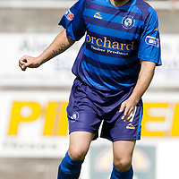 Forfar Athletic...Season 2009-10<br /> Martyn Fotherimgham<br /> Picture by Graeme Hart.<br /> Copyright Perthshire Picture Agency<br /> Tel: 01738 623350  Mobile: 07990 594431