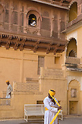 Guards at Jodhpur Fort, Rajasthan