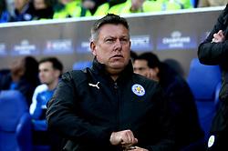 Leicester City manager Craig Shakespeare - Mandatory by-line: Robbie Stephenson/JMP - 18/04/2017 - FOOTBALL - King Power Stadium - Leicester, England - Leicester City v Atletico Madrid - UEFA Champions League Quarter-Final Second Leg