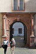Schloss Innenhof, Darmstadt, Hessen, Deutschland
