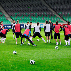 20130204: SLO, Football- First training camp of Slovenian football players with coach Srecko Katanec