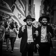 New York. Celebrate Israel parade, on fifth avenue.