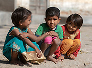 Children of Chanoud, Rajasthan, India.