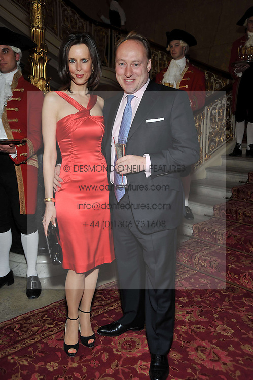 ANDREW & SUSAN ROBERTS at a party to celebrate 300 years of Tatler magazine held at Lancaster House, London on 14th October 2009.
