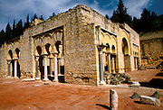 SPAIN, ANDALUSIA, CORDOBA Medina Azahara, ruins of palace