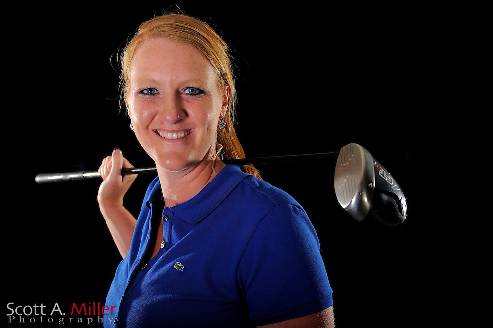 Elizabeth Dotson during a portrait shoot prior to the LPGA Futures Tour's Daytona Beach Invitational at LPGA International's Championship Courser on March 30, 2011 in Daytona Beach, Florida... ©2011 Scott A. Miller