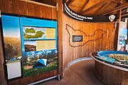 Interpretive displays, Santa Cruz Island, Channel Islands National Park, California