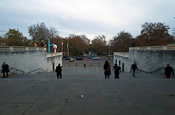 UK ENGLAND LONDON 23NOV11 - The Steps betwen Pall Mall and The Mall in the West End, central London.....jre/Photo by Jiri Rezac....© Jiri Rezac 2011
