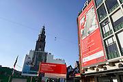 Nederland, Groningen, 20-8-2016Stadsbeeld,straatbeeld uit de binnenstad . Nieuwe oostwand , groninger forum . Ambitieus nieuwbouwproject op de grote marktFoto: Flip Franssen