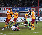 Gary Irvine fires home Dundee's third goal -  Dundee v Motherwell, SPFL Premiership at Dens Park <br /> <br /> <br />  - &copy; David Young - www.davidyoungphoto.co.uk - email: davidyoungphoto@gmail.com