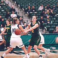 during the Women's Basketball Home Game on Sat Nov 03 at Centre for Kinesiology,Health and Sport. Credit: Arthur Ward/Arthur Images