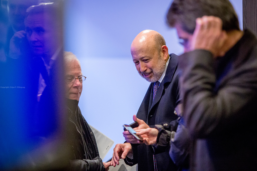 CEO and Chairman in Goldman Sachs, Lloyd Blankfein, at the World Economic Forum in Davos.