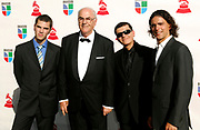 Los Sabandenos attend the 10th Annual Latin Grammy Awards at the Mandalay Bay Hotel in Las Vegas, Nevada on November 5, 2009.
