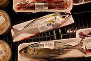 Opelu fish, Takamiya Market, Wailuku, Maui, Hawaii