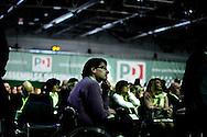ROMA. UN DELEGATO DISABILE ALL'ASSEMBLEA DEL PARTITO DEMOCRATICO