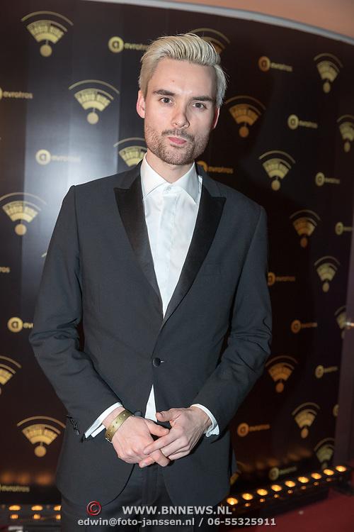 NLD/Hilversum/20180125 - Gouden RadioRing Gala 2017, Domien Verschuuren