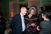 PAUL GAMBACCINI; GRAYSON PERRY, Founding Fellows 2010 Award Ceremony. Foundling Museum on Monday  8 March